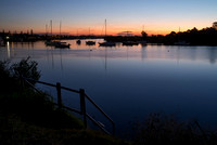 Dusk on the river, Yamba