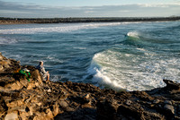 Fisherman, Clarence Head, Yamba