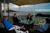 Relaxing on the Deck, Cooee Bay