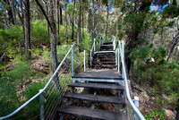 Stairs on track to Grand High Tops, Warrumbungle National Park