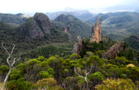 The Breadknife from the Grand High Tops, Warrumbungle National Park