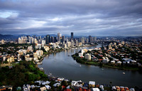 Brisbane River and City