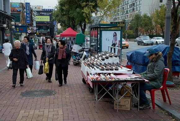 Gangnam Street Scene
