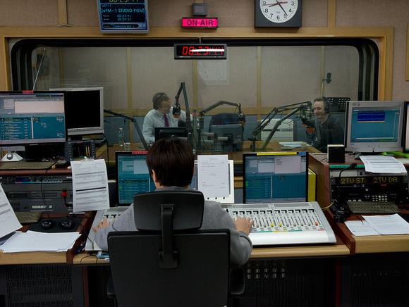 TBS broadcast studio