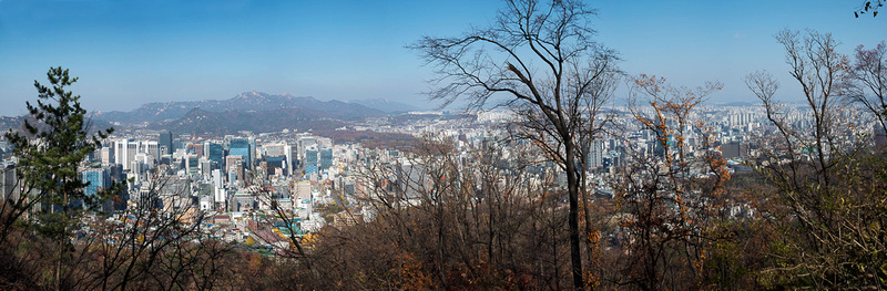 View over Seoul from Namsan