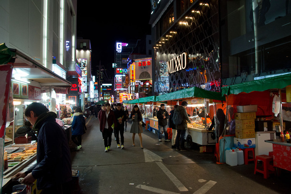 Gangnam at night