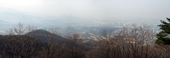View from Namhansanseong wall
