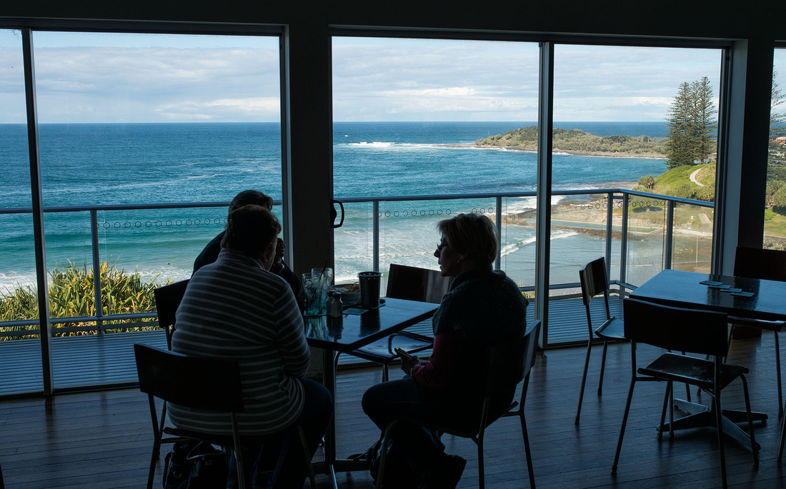 Lunch at the Pacific Hotel. Yamba