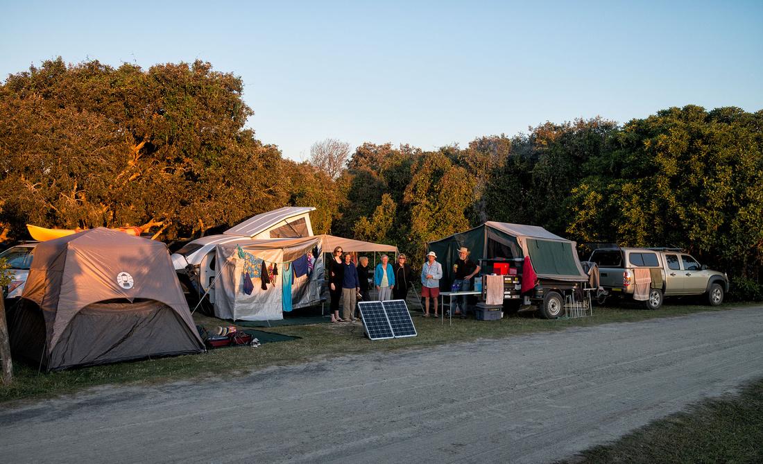 Camp at Lake Arragan