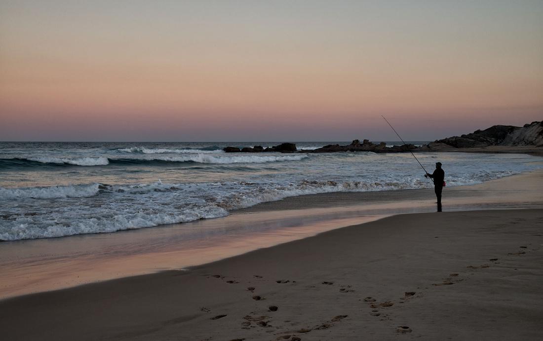 Plumbago Beach at Dusk