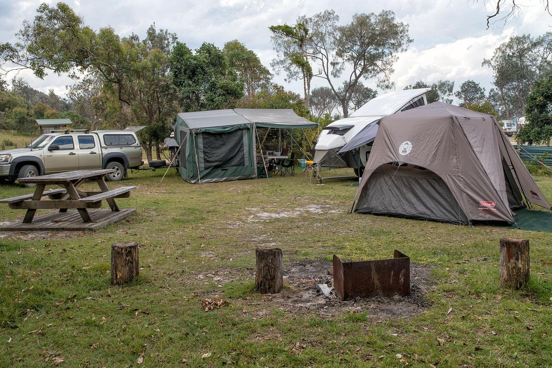 Camp at Illaroo near Minnie Water
