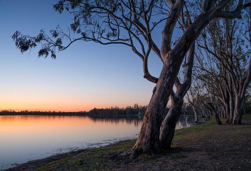 Lake Broadwater before Sunrise