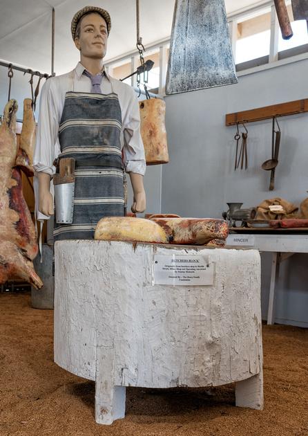 Butcher Shop, Miles Historical Museum