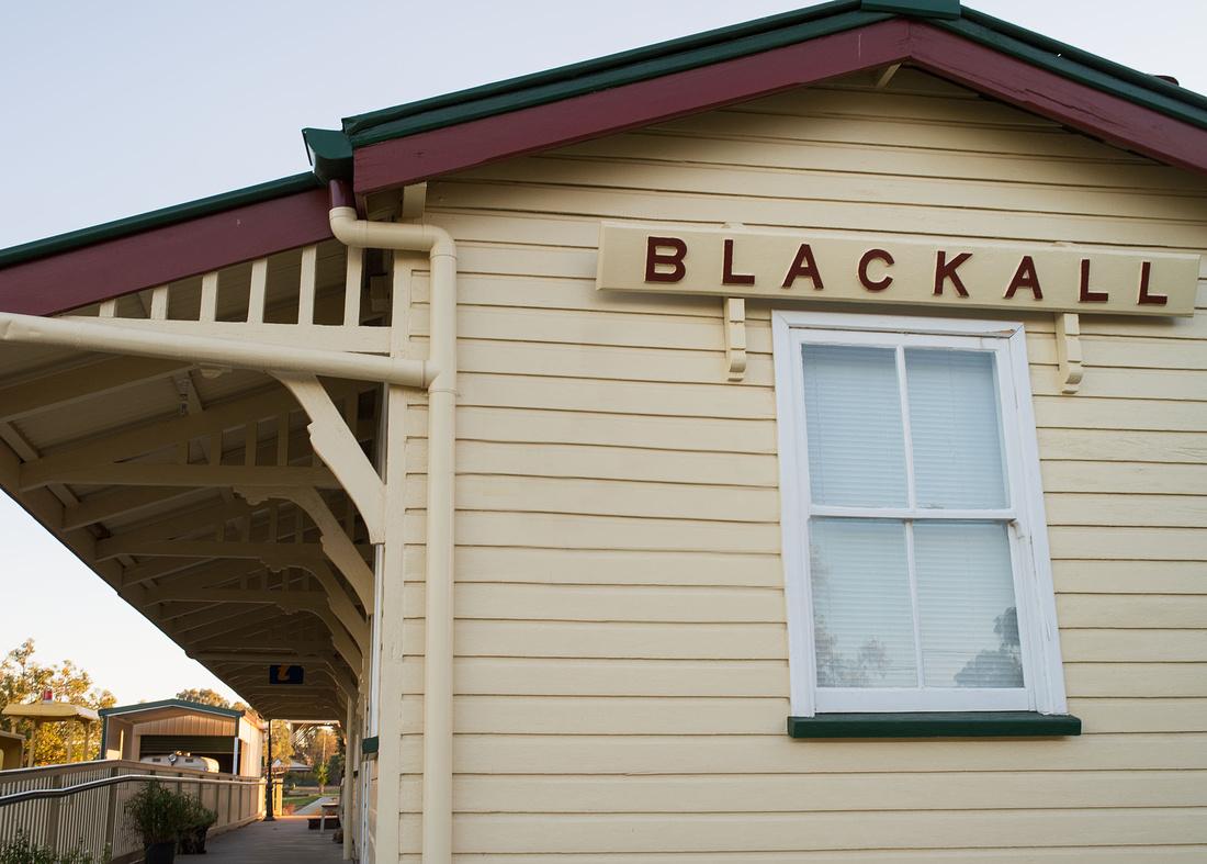 Old Railway Station Building, Blackall