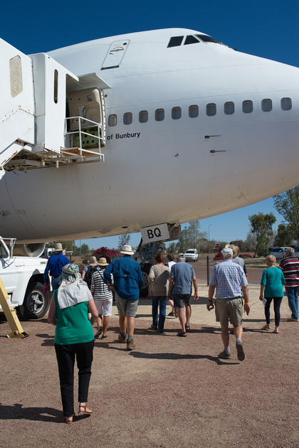 Boeing 747 Tour, Qantas Founders Museum, Longreach