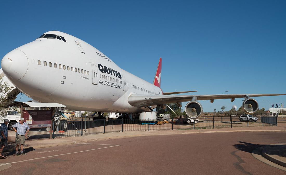 Boeing 747 at Qantas Founders Museum