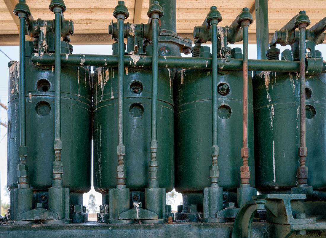 1917 Ruston Kerosene Tractor Cylinders