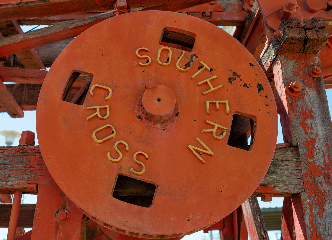 Detail of Southern Cross Boring rig