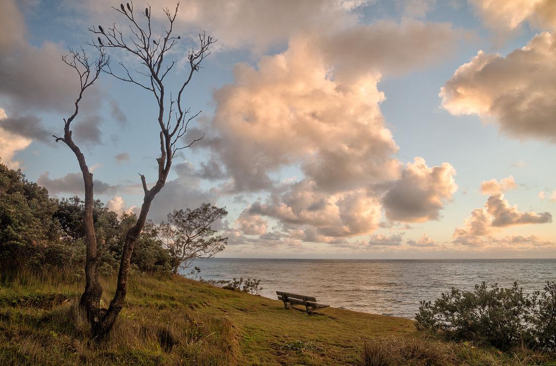 Morning near Boorkoom Campground, Yuraygir National Park