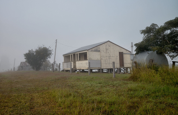 Old House in mist