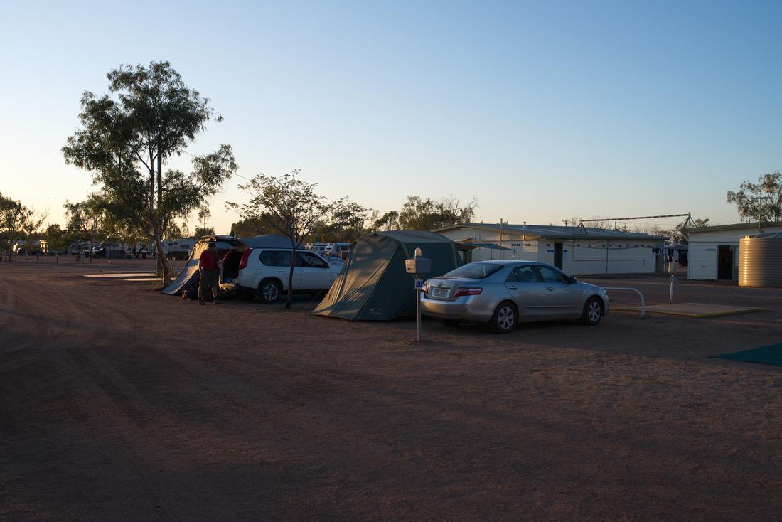 Campsite - Longreach Tourist Park