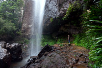Base of Rainbow Falls, Springbrook